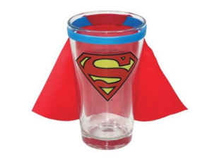 Superman Pint Glass